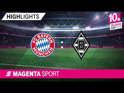 FC Bayern München - Borussia Mönchengladbach | Finale, Telekom Cup 2019 | MAGENTA SPORT