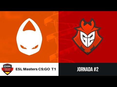 X6tence vs. G2 Vodafone [Cache] ESL Masters CS:GO Temporada 1 - Jornada #2