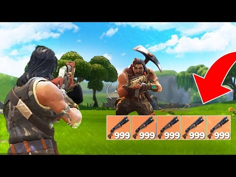 LEGENDARY SHOTGUN ONLY CHALLENGE! (Fortnite Battle Royale)