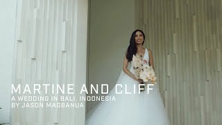 Martine and Cliff: A Wedding in Bali, Indonesia
