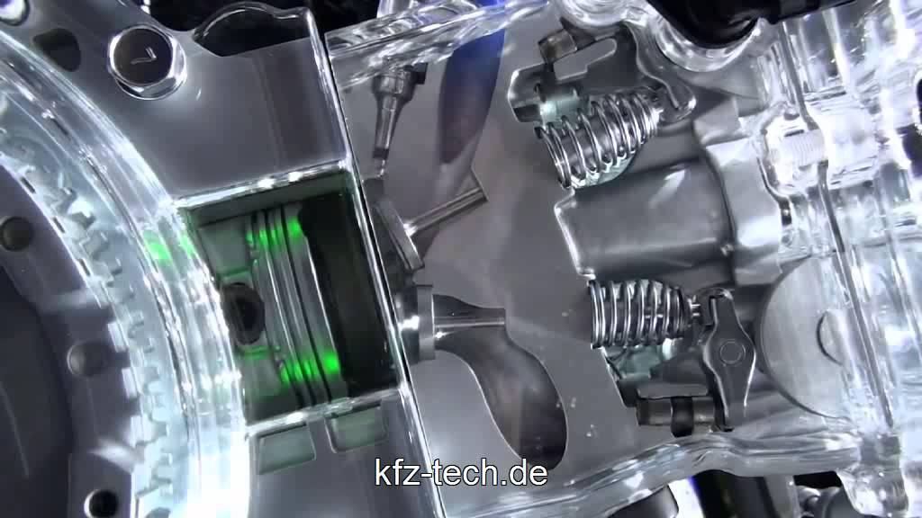Motorsteuerung Schlepphebel - YouTube