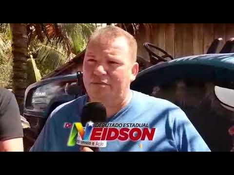 Vídeo: Dr. Neidson entrega trator para comunidade São Miguel