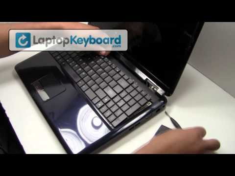 Asus Keyboard Installation Guide - Replacement Remove Install Laptop G60 K52 G72 K50