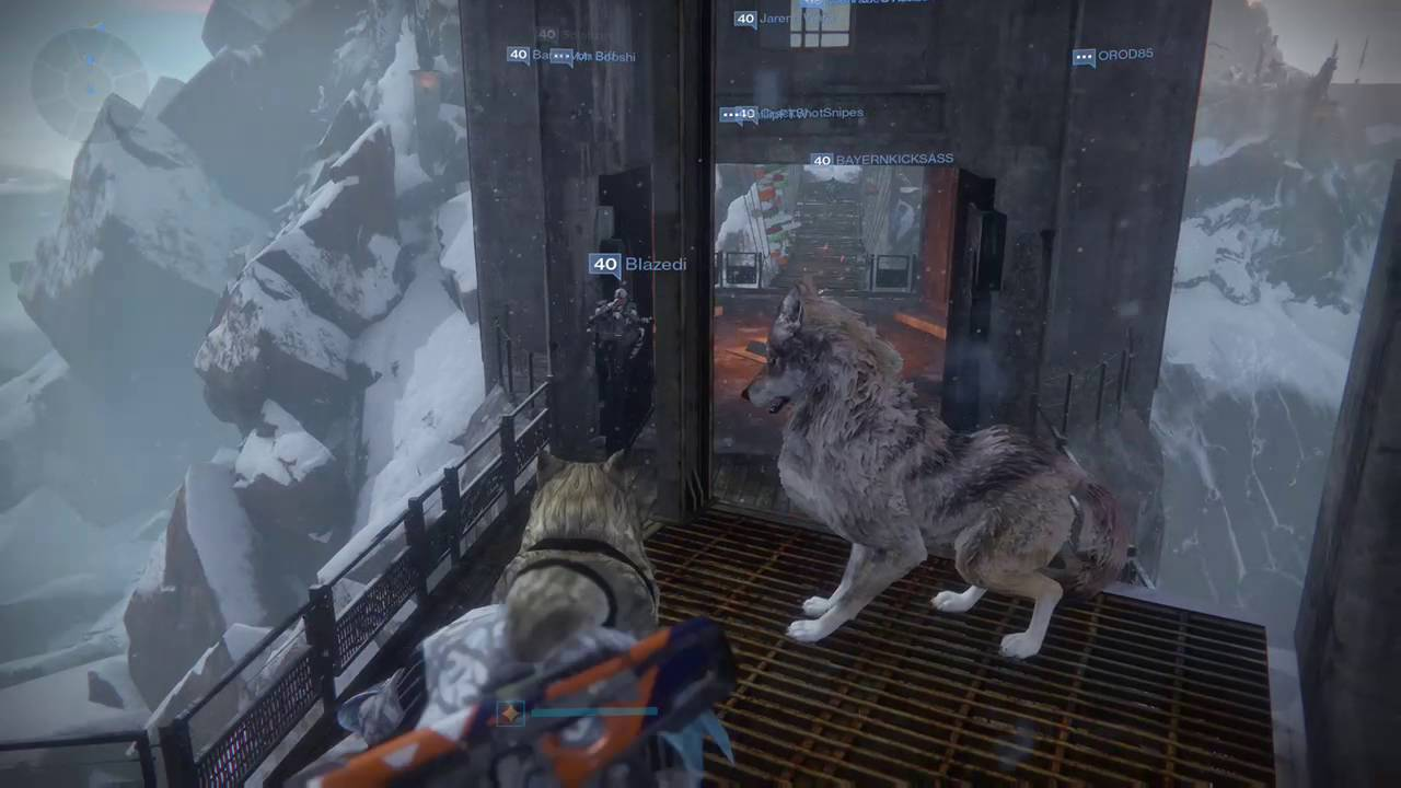 Destiny Rise Of Iron Wallpaper Download Free Stunning: Wolf Howling At Iron Temple