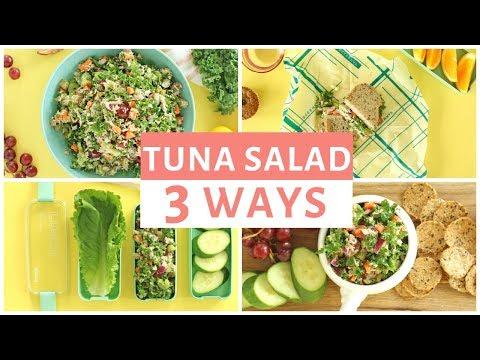Chopped Tuna Rainbow Salad | Quick & Easy Lunch Ideas for School