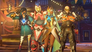 Overwatch: 11 Minutes of New Map Gameplay - Year 1 Anniversary