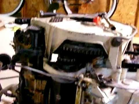 How to synchronize a 1960 75hp V4 Johnson Sea horse outboard