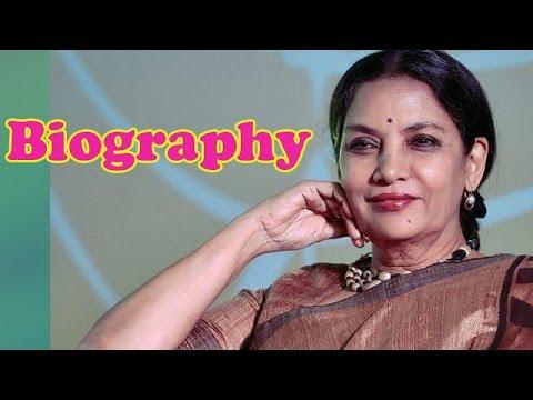 Shabana Azmi - Biography
