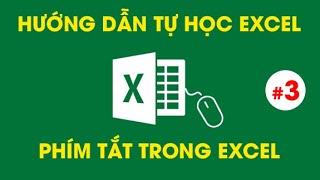 Tự Học Excel - Các phím tắt THẦN KỲ trong Excel #3