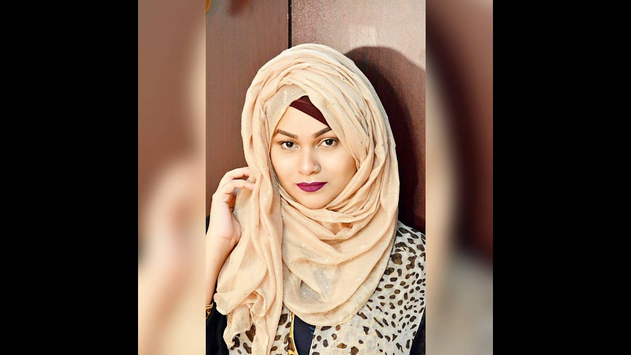 Simple Volume Layered Hijab Tutorial by Tabassum - YouTube