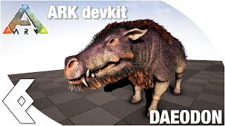 Ark Devkit Daeodon Dino Spotlight And Dossier Youtube You can find them scattered around the landscape of the island, scorched earth, aberration, and extinction as collectables among other explorer notes. youtube