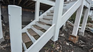 How To Keep Exterior Stairs From Rotting
