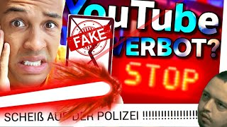 FANS ANGELOGEN?! 😵 Simon Desue hat Polizei! 🚨 YOUTUBE-VERBOT & ERMITTLUNGEN!
