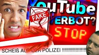 FANS ANGELOGEN?! 😵 Simon Desue hat Polizei! 🚨 YOUTUBE-VERBOT & ERMITTLUNGEN!