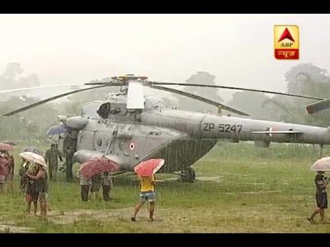 Itanagar: Bad wheather leads to emergency landing of Kiren Rijiju's plane