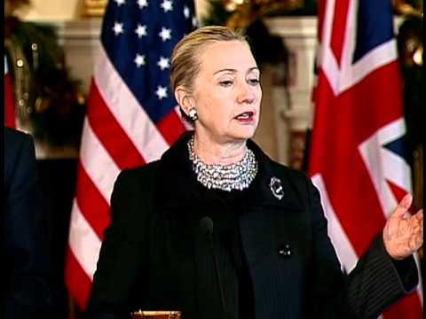Secretary Clinton Comments on Russian Elections, Iraq, and Iran