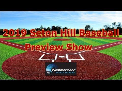 2019 Seton Hill Baseball Season Preview Show