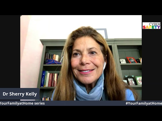 #YourFamilyatHome Live with Dr  Sherry Skylar Kelly and Parry Aftab
