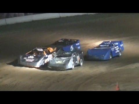 Crate Late Model B-Main Two | McKean County Raceway | Fall Classic | 10-14-16