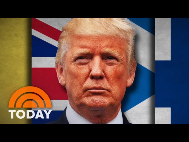 President Donald Trump Attends NATO Summit Amid Tense Relations With Allies | TODAY