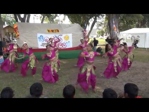 Sinhala New Year Celebration 2016 - Thath Jith Dance Troupe