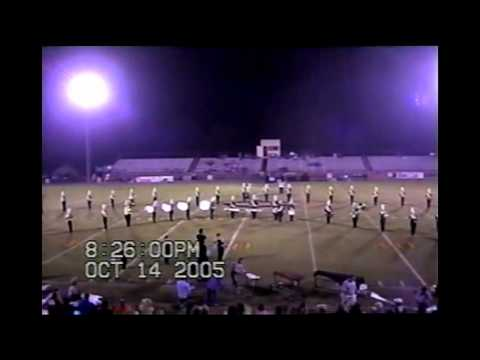 2005 Crossville High School Band Senior night Football game