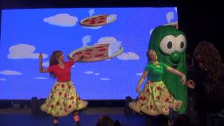 Veggie Tales Live - Pizza Angel - Silly Sing Along in NY 2014