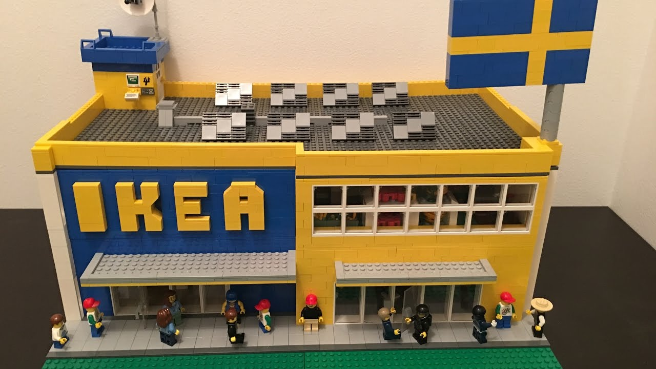 Lego IKEA MOC!! Full Interior!! - YouTube