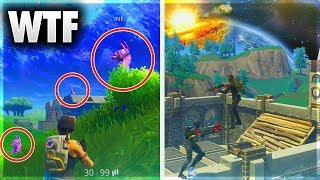 10 BIGGEST GLITCHES IN FORTNITE BATTLE ROYALE HISTORY - *2018 CRAZY GLITCHES* 🔥😱