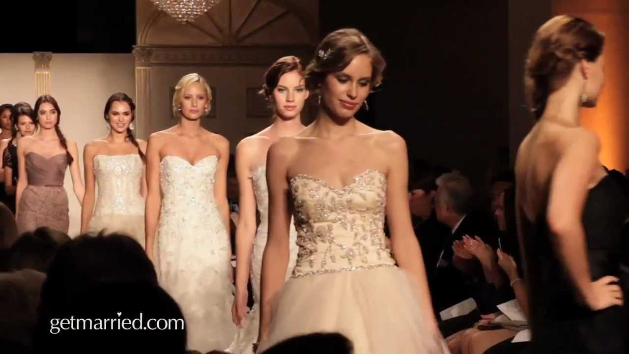 Noir by lazaro wedding gowns spring 2012 youtube ombrellifo Choice Image