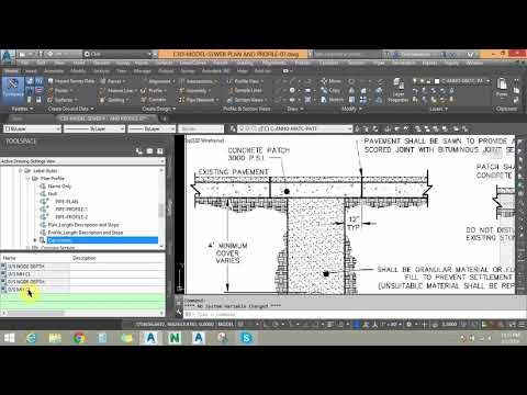 Session 01 Earthwork Volume for Sewer & Drainage Pipe: Expression & Volume Table Method