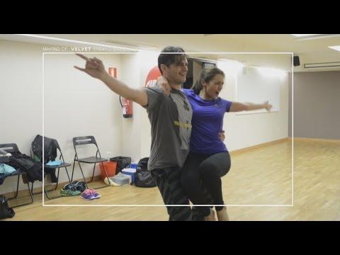 Más de Velvet - Los divertidos ensayos de Asier y Paula Echevarría
