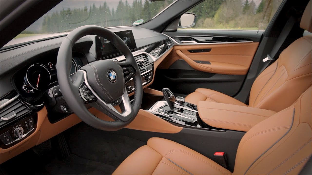 2017 bmw 520d touring interior youtube