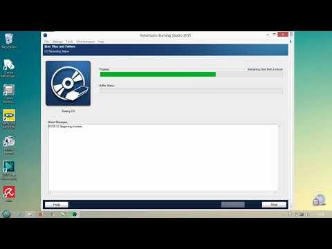 "Assignment Module 6 ""How to burn files in CD Using Ashampoo Burning Studio"""
