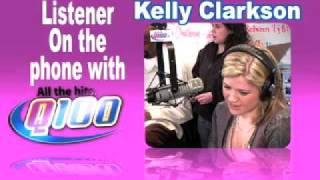 Baixar Q100 Atlanta - Kelly Clarkson on the Bert Show- PT3