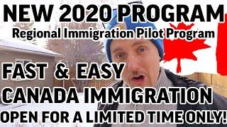 2020 BEST IMMIGRATION PROGRAM | REGIONAL IMMIGRATION PILOT PROGRAM (RIPP)