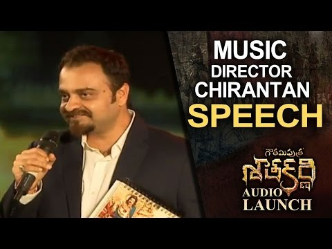 Music Director Chirantan Speech @ Gautamiputra Satakarni Audio Launch | Lahari Music | T-Series