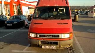 ᴴᴰ 2000 IVECO Daily: Start up, tour & drive
