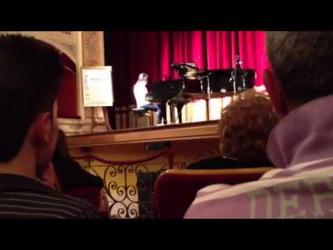 Alessia Nicosia, Notturno op. 32 n. 2 di F. Chopin – Concorso Euterpe 2012