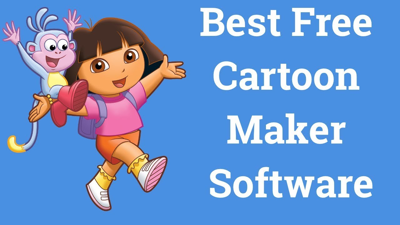 Best Free Cartoon Animation Software For Animated Video Erait Youtube