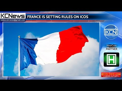 France is formulating ICOs soon