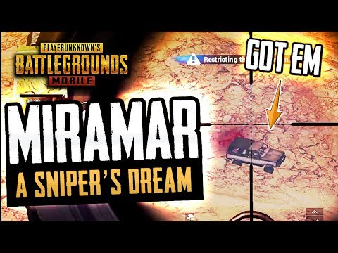 MIRAMAR is HERE! PUBG Mobile FIRST GAME EVER!