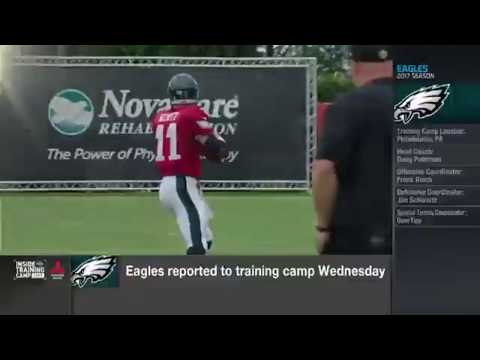 Carson Wentz Full Interview | 2017 NFL Training Camp Highlights