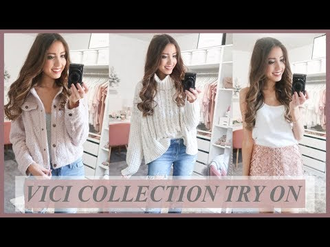 VICI COLLECTION TRY ON HAUL 2018   WINTER CLOTHING HAUL