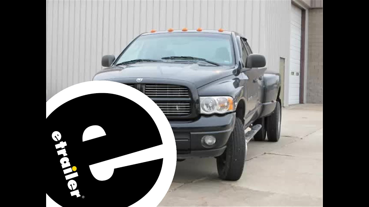 Trailer Brake Controller Installation  2005 Dodge Ram  etrailer  YouTube