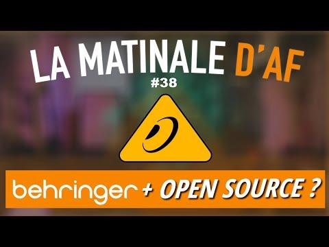 Behringer se sert dans l'Open Source ? - LA MATINALE D'AF #38