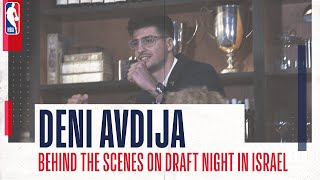 🍿 DENI AVDIJA | Behind the Scenes - The anticipation, emotion and elation of Draft Day