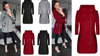 Long Sleeve Thicken Overcoat Warm Jacket Outwear Review | Best Jackets For Women Fashion 2018