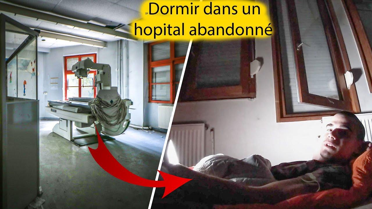 Dormir dans un hôpital abandonné !
