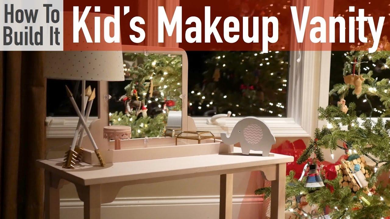 kid s makeup vanity